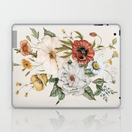 Wildflower Bouquet Laptop & iPad Skin