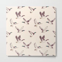 Duck, Duck, Goose Metal Print