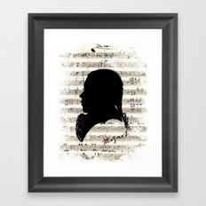 Mozart - Dies Irae Framed Art Print
