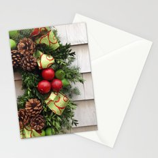 Holiday Wreath Stationery Cards
