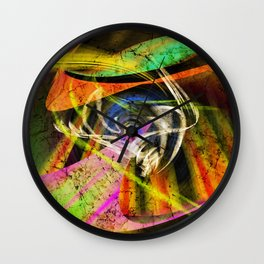 Insperation of colors Wall Clock