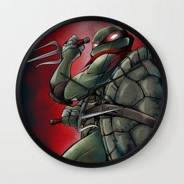 Raphael . TMNT Wall Clock