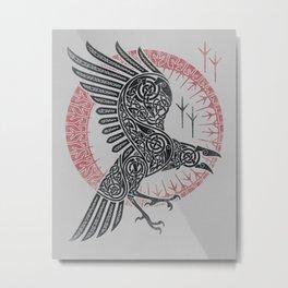 RAGNAR'S RAVEN Metal Print