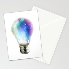 Light up your galaxy Stationery Cards