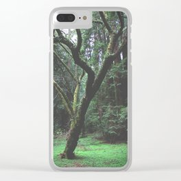 Mossy Womb Clear iPhone Case