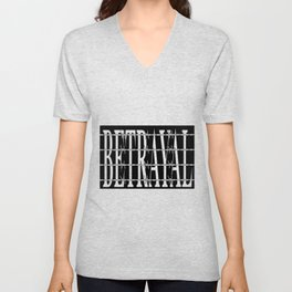 Betrayal Unisex V-Neck