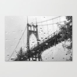 Rainy Bridge Canvas Print