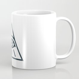 All Seeing Eye - Illuminati Pyramid Version 1 Coffee Mug