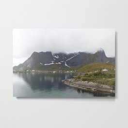 Behind the fog Metal Print