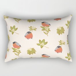 Eurasian bullfinch 2 Rectangular Pillow
