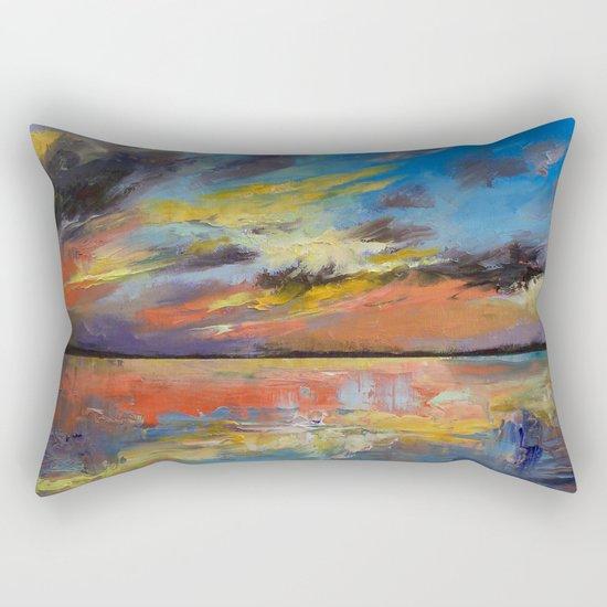 Key West Florida Sunset Rectangular Pillow