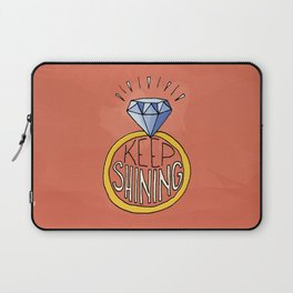 Keep Shining Laptop Sleeve