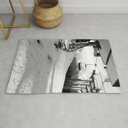 Scenic route equipment Rug