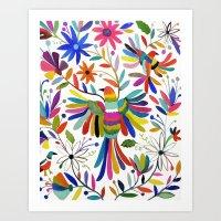 otomi bird Art Print