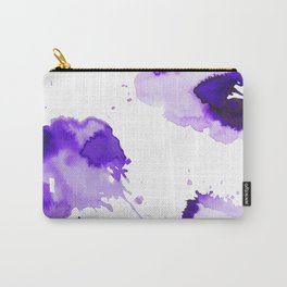 Purple Palette Splashes Carry-All Pouch