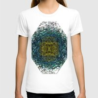 geode T-shirts featuring Geode Abstract 01 by Charma Rose