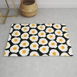 with bread and butter Rug