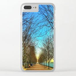 Spring Morning on the Quay Clear iPhone Case