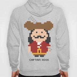 Captain Hook Pixel Character Hoody