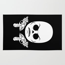 DeathRay Evil Empire Logo Rug