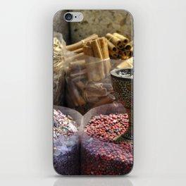 Spice souk Dubai iPhone Skin