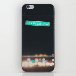 Las Vegas Boulevard ... iPhone Skin