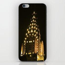 Chrysler Building at Night iPhone Skin