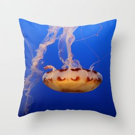 Medusa Jelly Throw Pillow