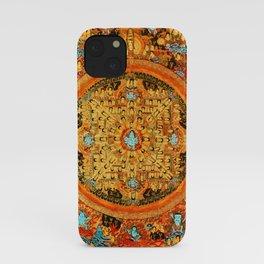 Buddhist Mandala Ashta Bhairava 1 iPhone Case