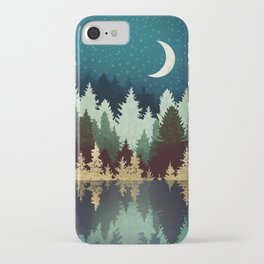 Star Forest Reflection iPhone Case