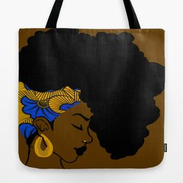 Fro African Tote Bag