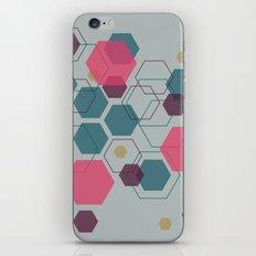 Hexagon Jewel iPhone Skin