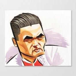 Chow Yun Fat Canvas Print