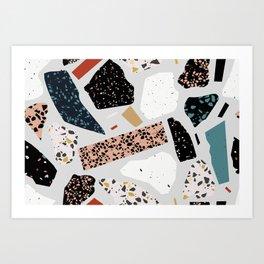 Terrazzo Art No.1 Art Print