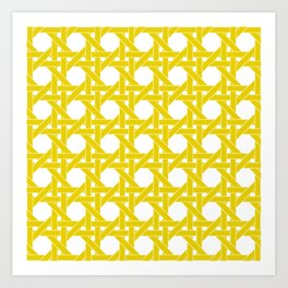 CANE LATTICE Art Print