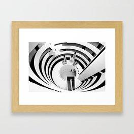 The Gemini Tower Framed Art Print