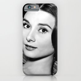 Audrey Close Up iPhone Case