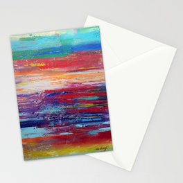 All That We Love by Nadia J Art Stationery Cards