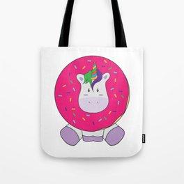 Unidonut Doughnut Lovers Unicorn Magical Creatures Magic Fantasy Rainbow Fairytale Myth Horse Gift Tote Bag