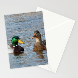 A Pair of Mallard Ducks Stationery Cards