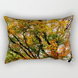 tree branches and leaves Rectangular Pillow