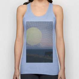Cow at Sunset Unisex Tank Top
