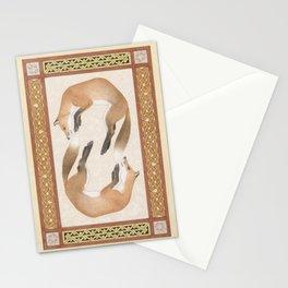 Fox Dance Stationery Cards