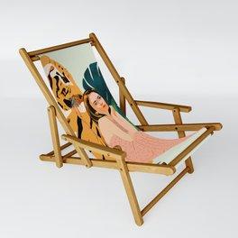 Tiger Spirit Sling Chair