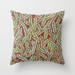Forest Freshness Throw Pillow