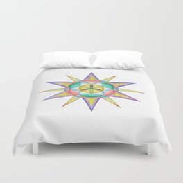 Life Star - The Rainbow Tribe Collection Duvet Cover