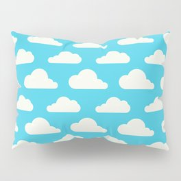 Fluffy clouds Pillow Sham
