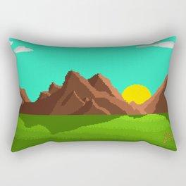 Mountain Sound Rectangular Pillow