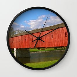 West Montrose, Ontario Covered Bridge Wall Clock
