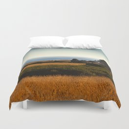 Lighthouse From Afar Duvet Cover